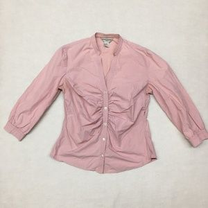 Banana Republic Womens Size M Pink Blouse